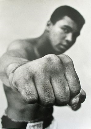 Recalling the time Ali punched me (but not very hard!)