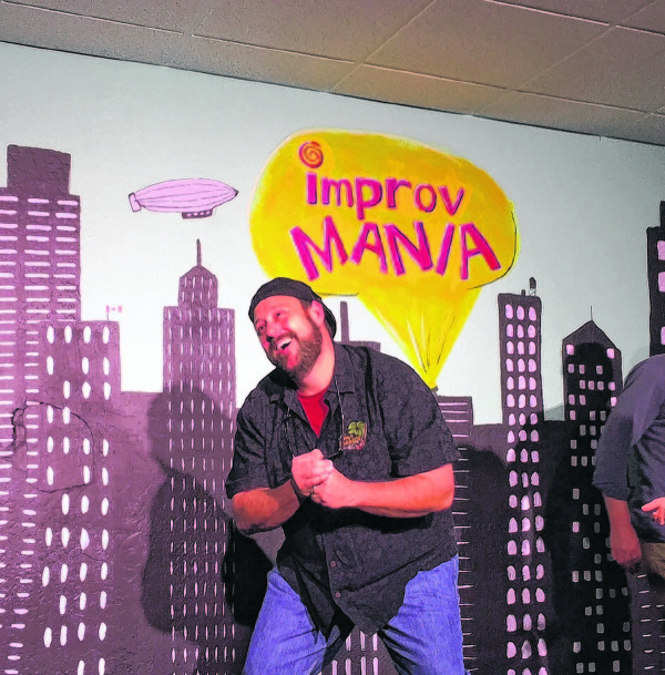 Comic relief: Improv gig lets attorney, audiences, laugh at life