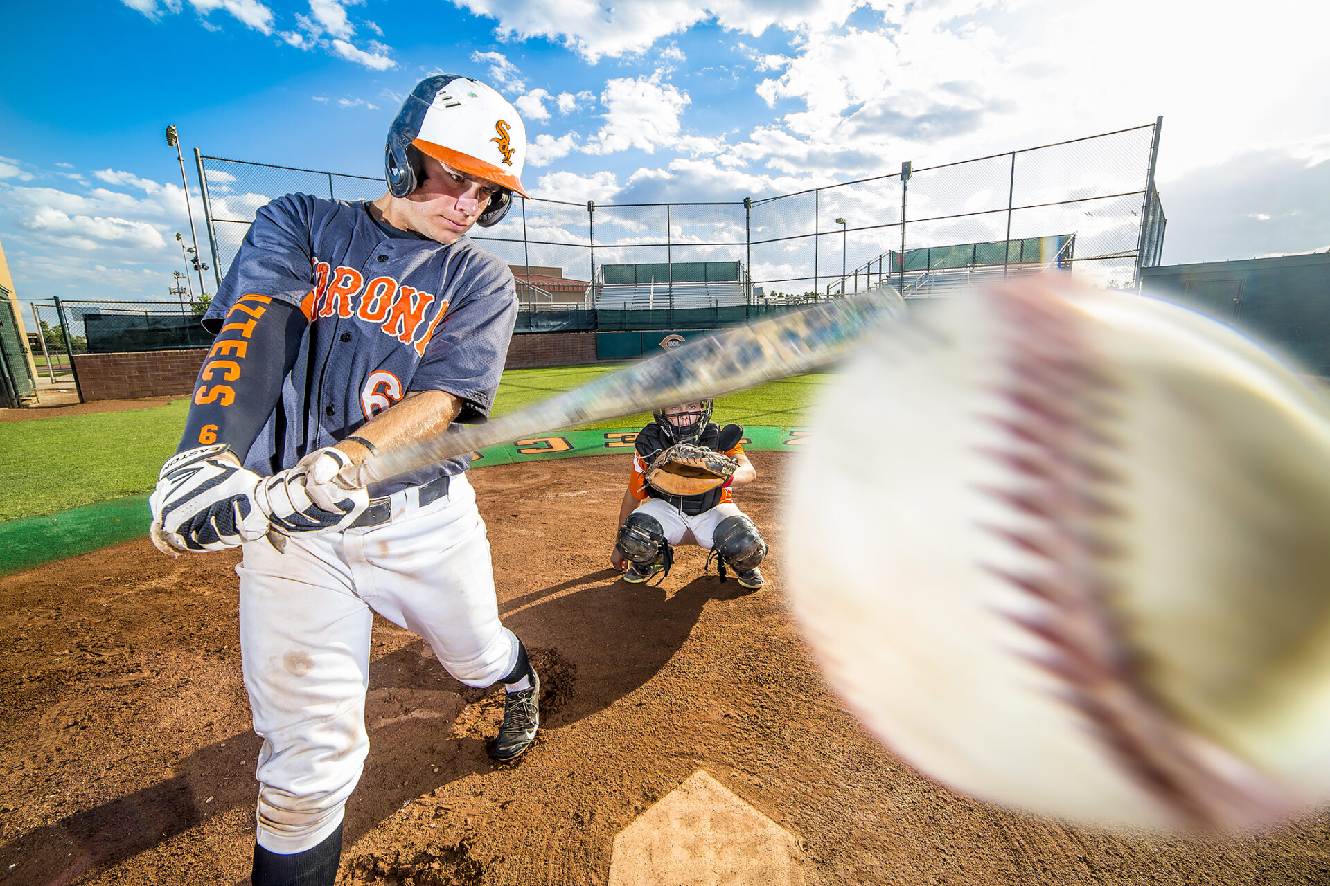 Corona del Sol Baseball, player-in-focus: Damon DeVirgilio