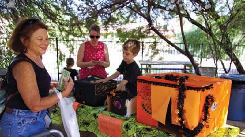 Mercado provides outlet for students' creativity at area Montessori school
