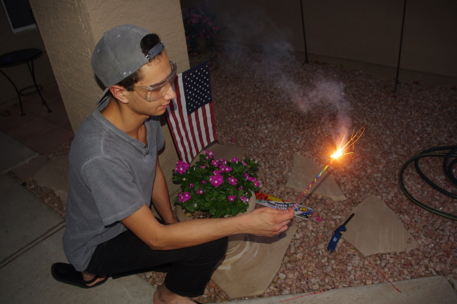 Safety goggles vital to protect against fireworks injury