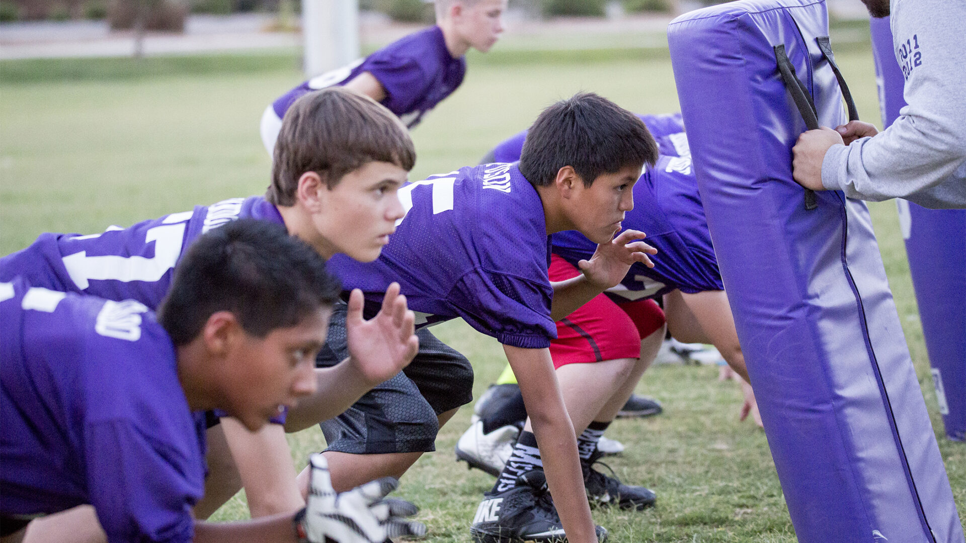 Local football program not taking a hit from the summer heat