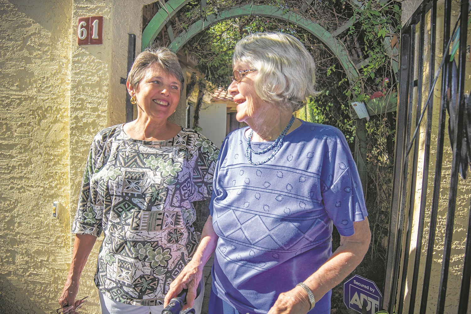 Lightening the load for seniors: Neighbors lend a helping hand