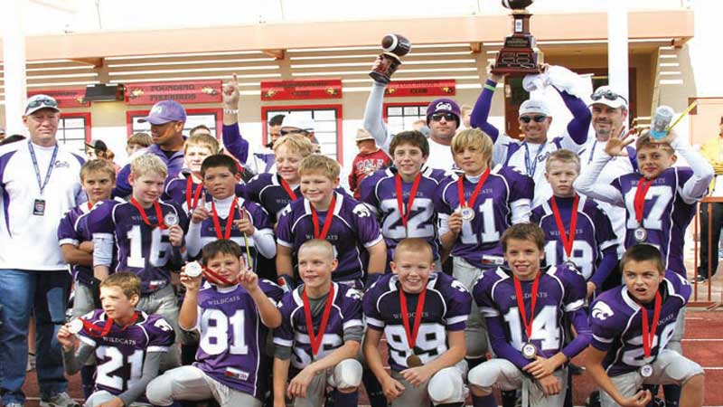 Junior Pee-Wee Wildcats no lightweights as contenders