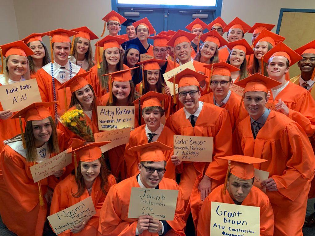 High school graduates return to their elementary classrooms
