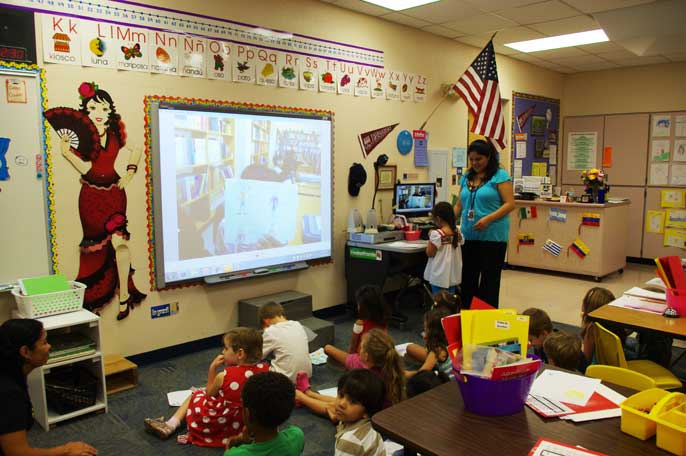 Technology links Kyrene kids to a global classroom