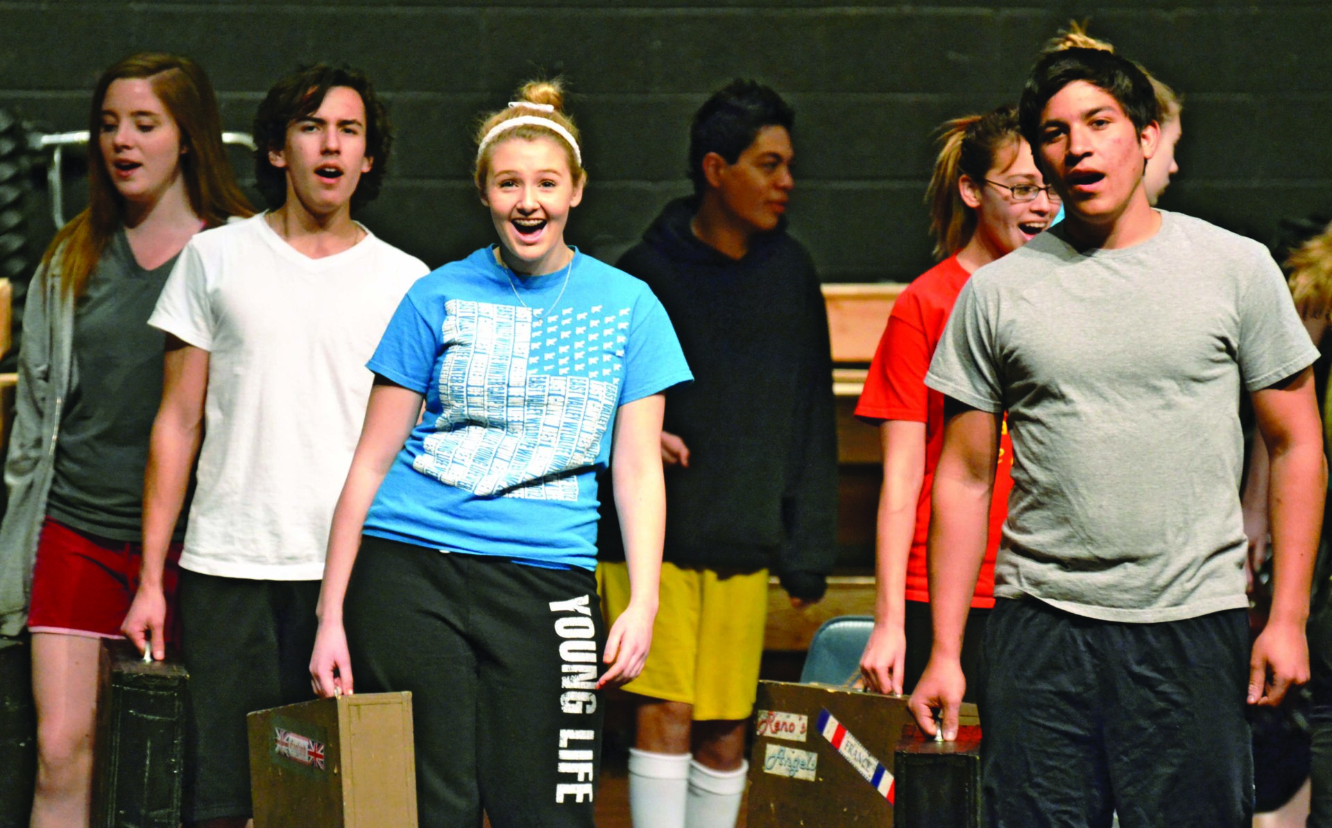 Theater students bring tap-dancing favorite '42nd street' to Marcos stage
