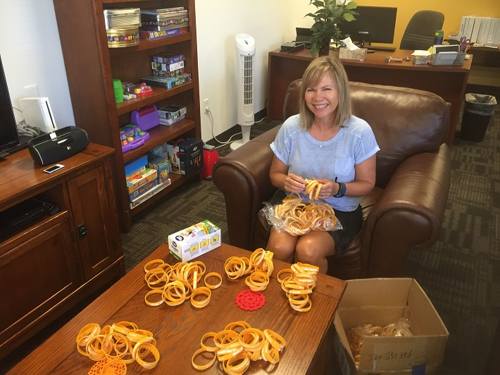 Lisa Coonrod: 'An amazing woman' who volunteers at Children's Cancer Network.