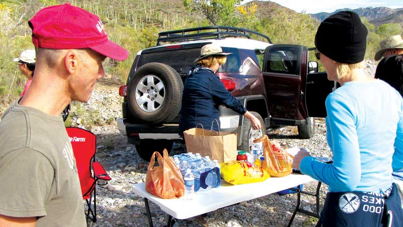 Hike along Arizona Trail is part of group's efforts to raise $250k