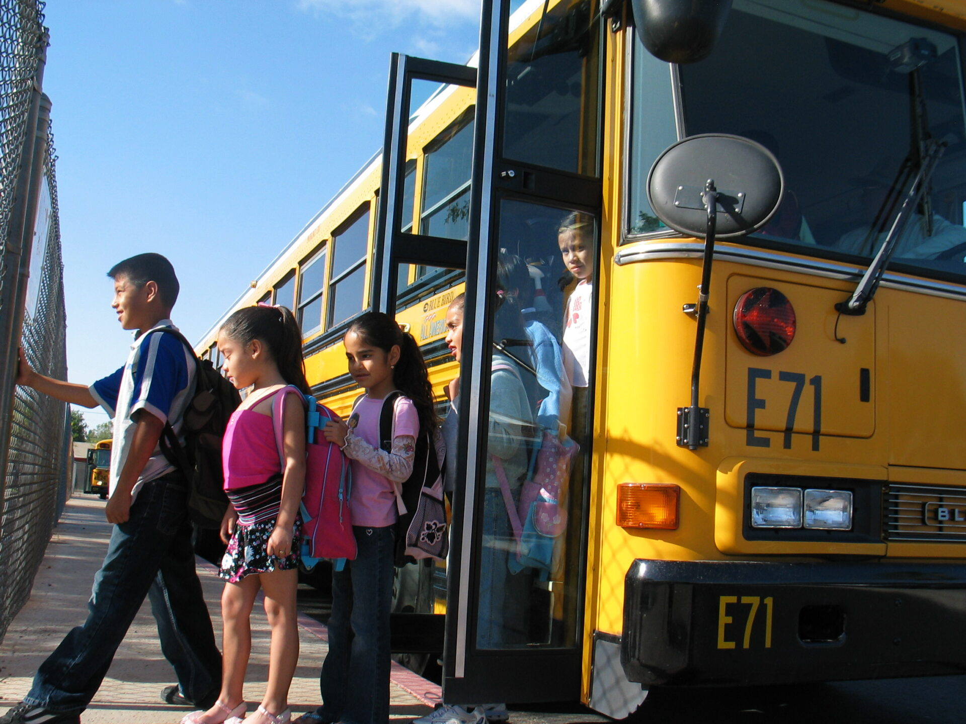School bus safety is a top priority in Tempe Elementary and Kyrene districts. The safety records provide more than ample proof. (Tempe Elementary Schools courtesy photo)
