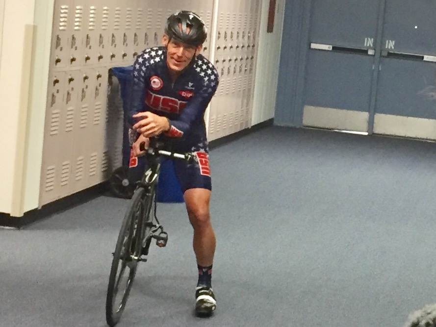 Paralympic champion cyclist Todd Key.