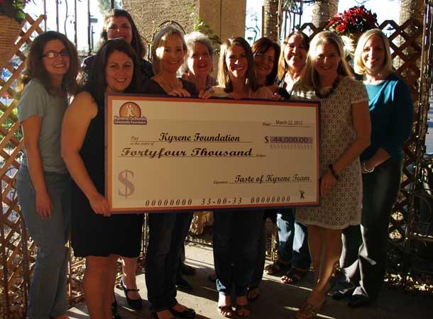 Taste of Kyrene raised more than $44,000