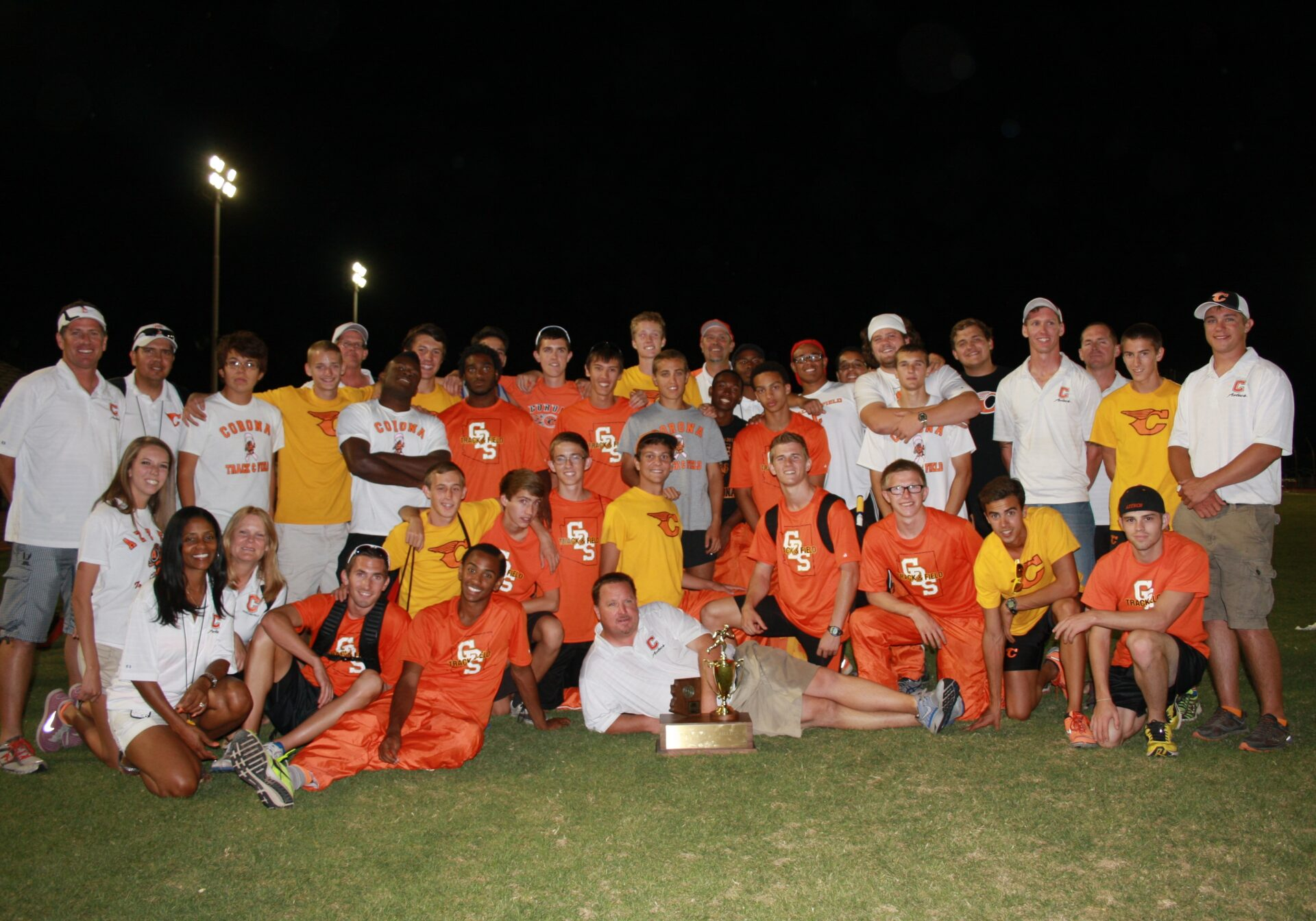 Stellar year for Corona track as boys place 2nd in state