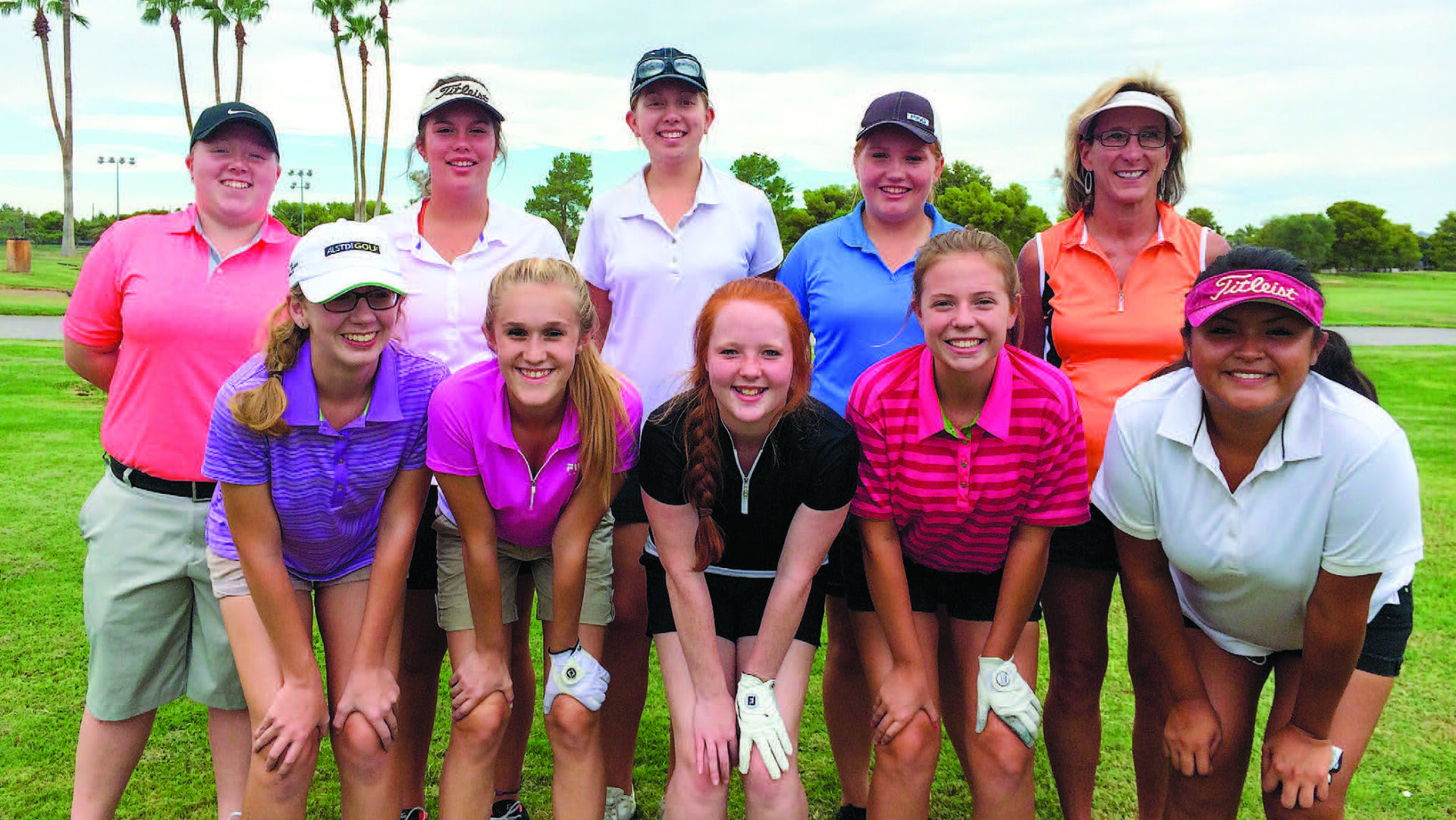 Sports: Two returnees raise hopes for Lady Aztec golf team