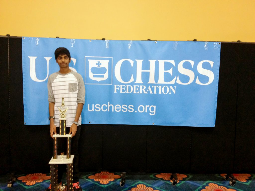 Prateek Pinisetti, a West Chandler resident, created the Chess Helps tournament to help teachers at his school and to help alleviate poverty.