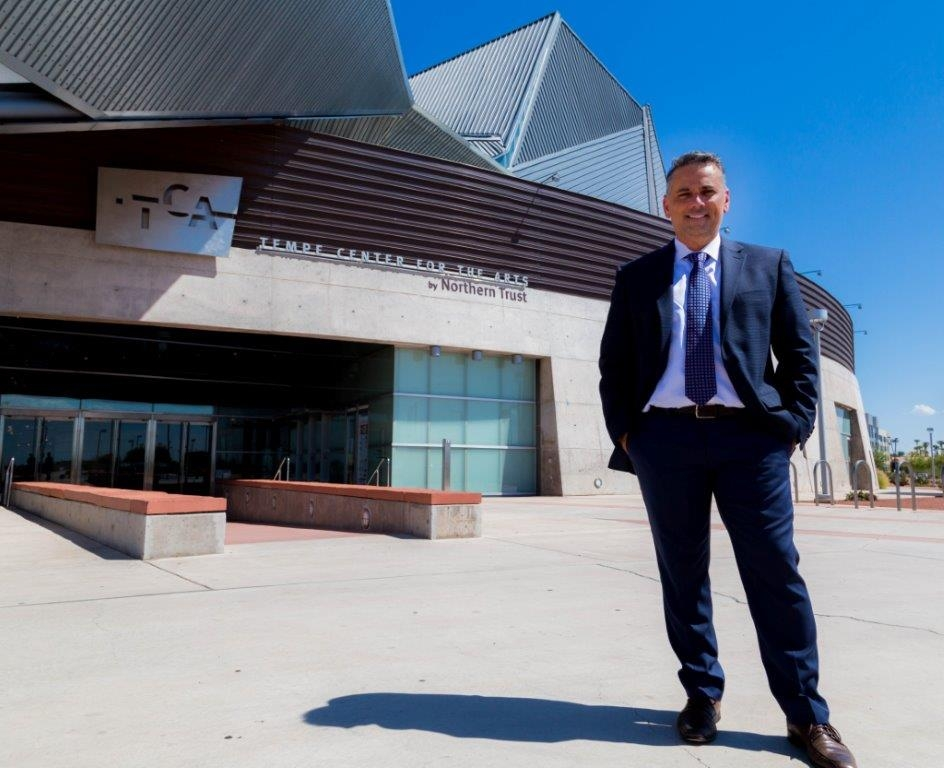 Luis Ruiz, new general manager of Tempe Center for the Arts, brings a wealth of experience to managing Valley venues such as the Orpheum, Phoenix Symphony Hall and the Herberger Theater, plus his drive to implement Tempe's arts plan.