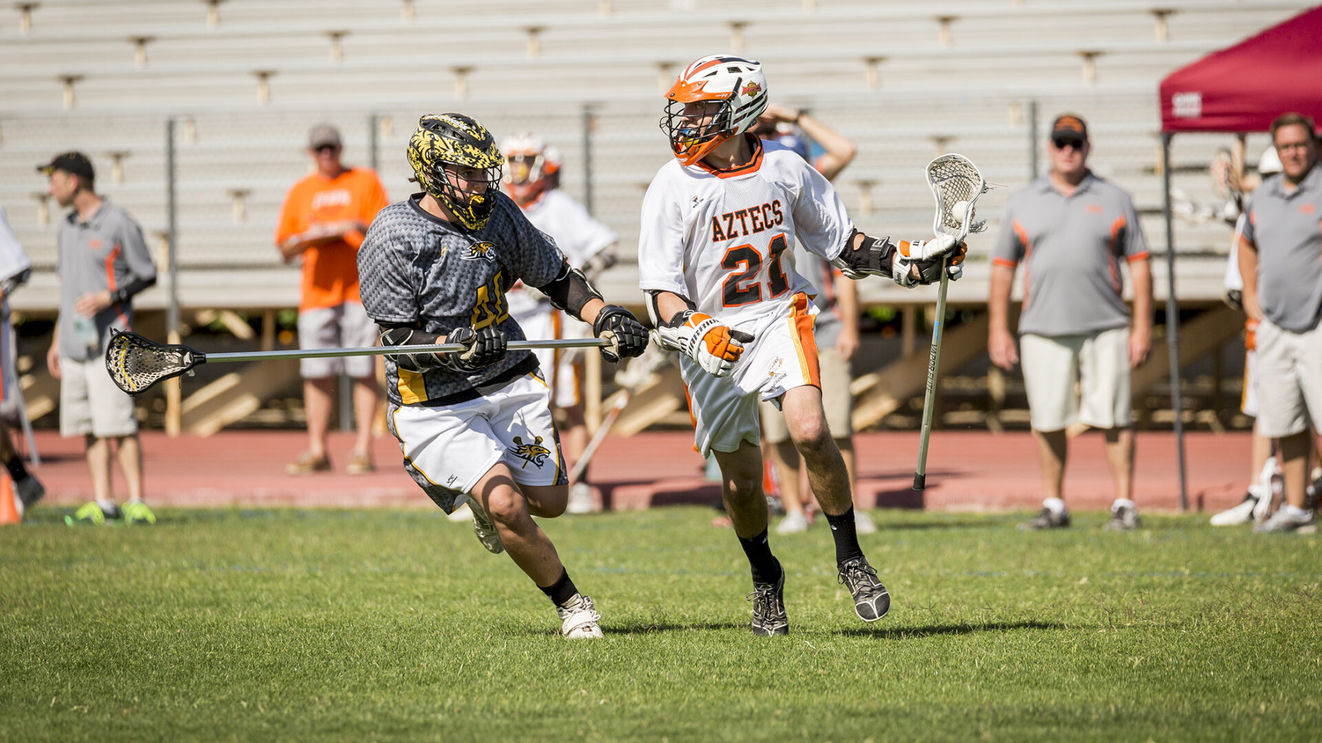 Aztec lacrosse reaches state playoffs for 4th straight year
