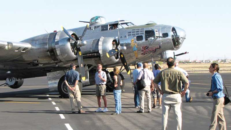 Taking a ride on the wings of history