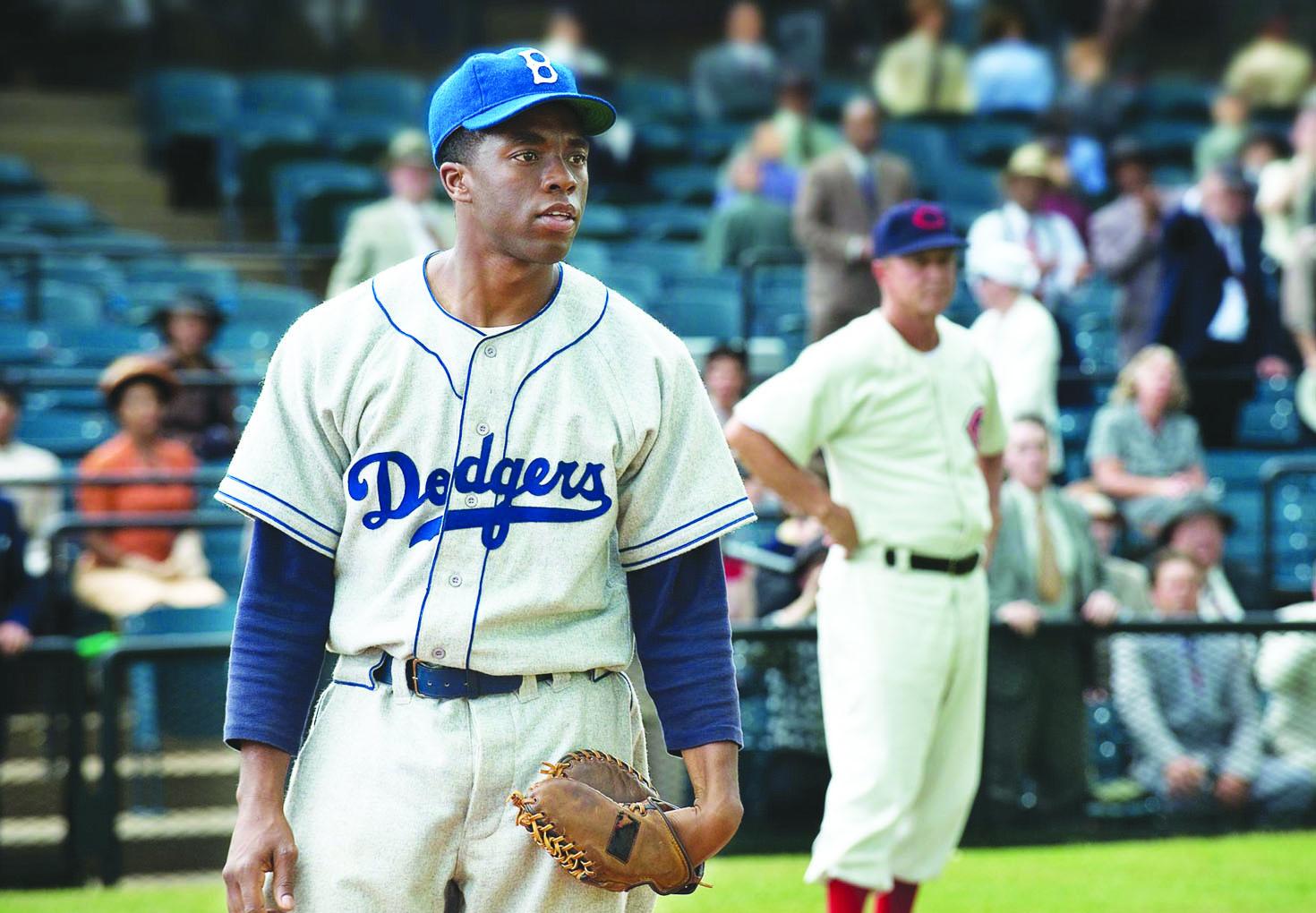 No. 1 box-office draw '42' illustrates Harrison Ford's star status