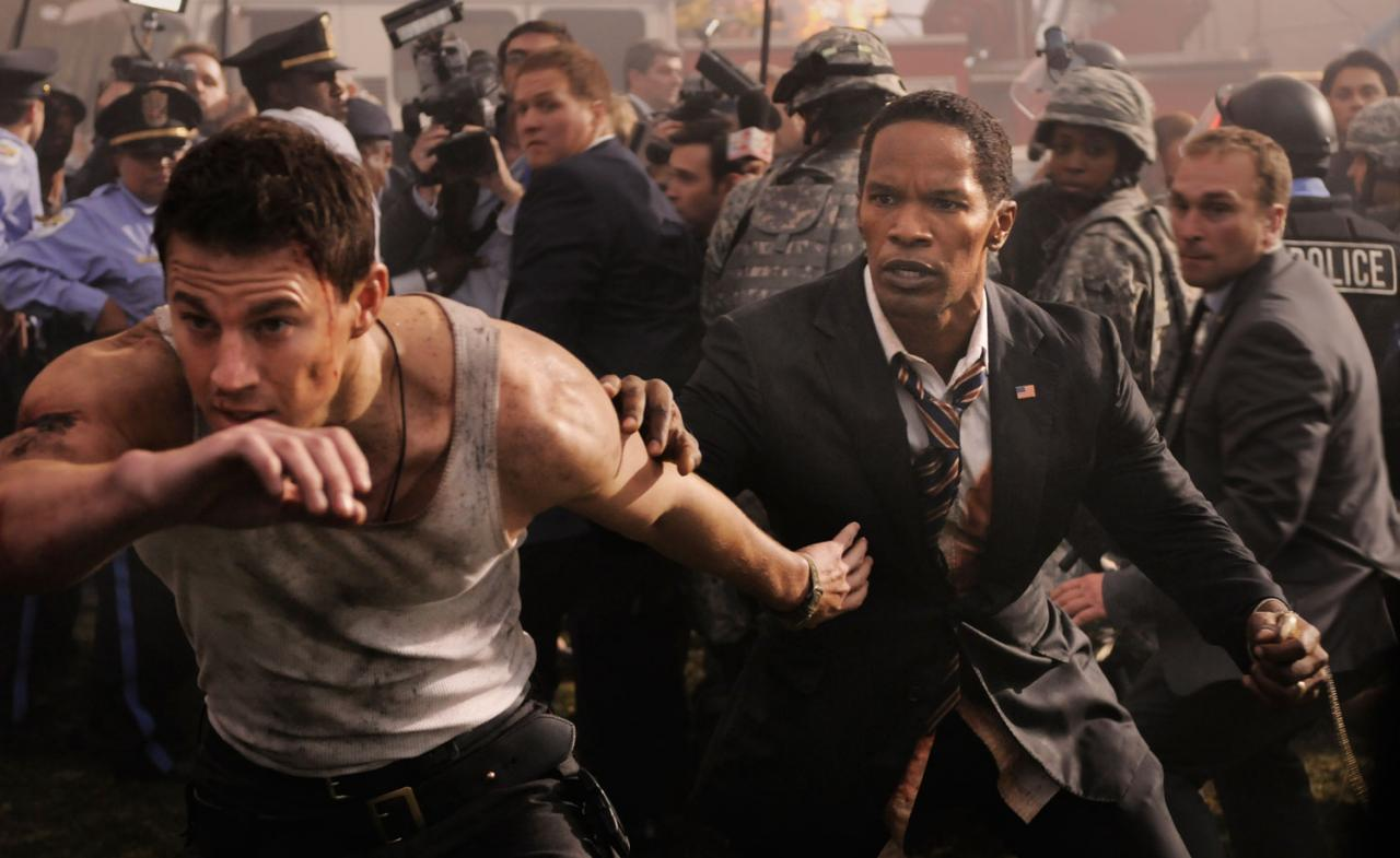 Explosions, crashes- and Tatum – are 'White House Down' mainstays