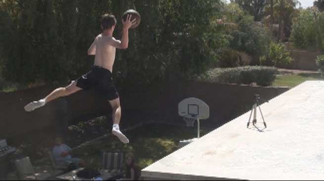 Trick-shot teen on his way to being 'The Happiest Person in the World'