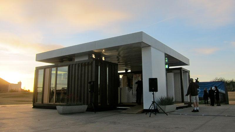 Tempe's Das Haus pavilion furthers city's green status