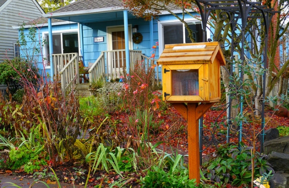 Are books growing in your garden? Mini-libraries are springing up in Tempe