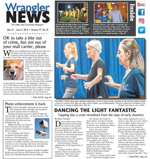 Online Edition – May 21, 2016