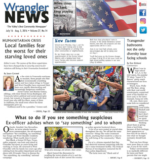 Print Edition – July 16, 2016