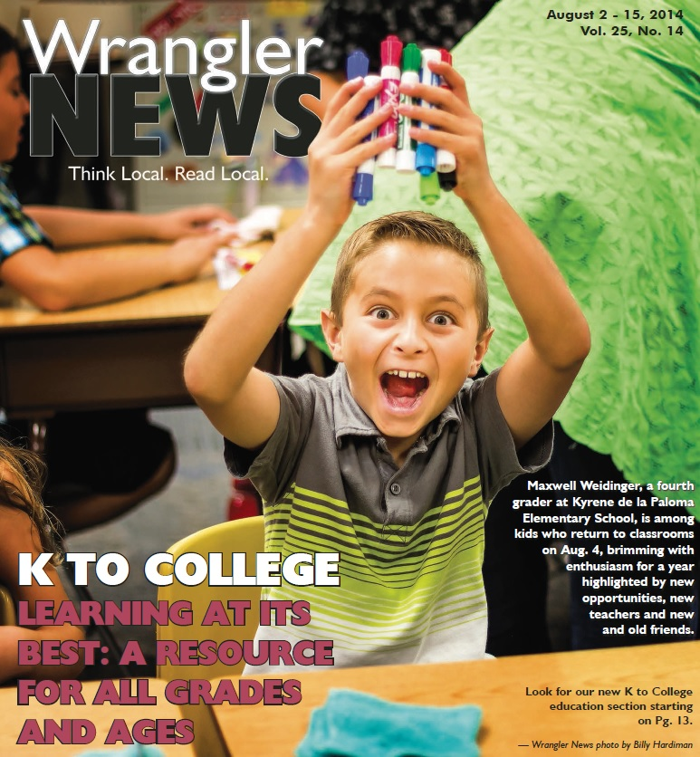 Online Edition – August 2, 2014